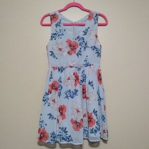 Jack floral fit and flare dress size 2